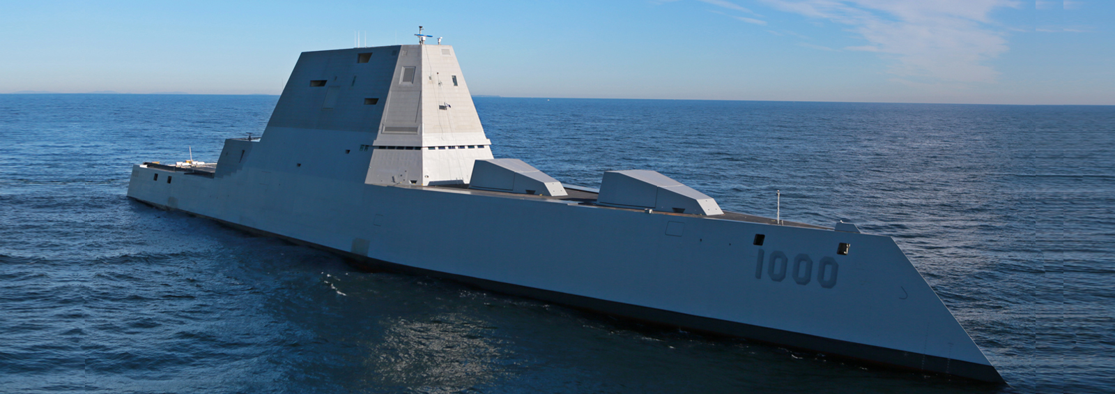USS Zumwalt DGD-1000 Destroyer